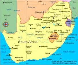 Map South Africa by Atlas South Africa