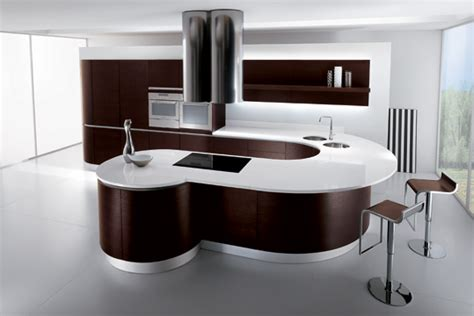 Island Kitchens Designs quattro kitchens curved kitchens