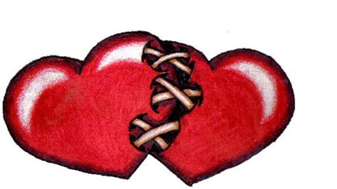 stitched heart tattoo designs free designs to print clipart best