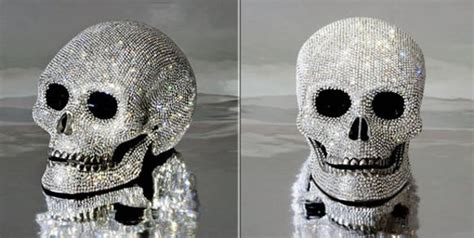 teschi con cristalli swarovski
