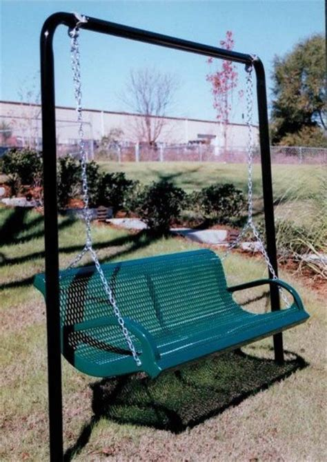 park swings for adults modern style park bench swing by webcoat aaa state of play