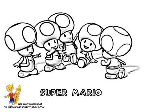 mario captain toad coloring pages