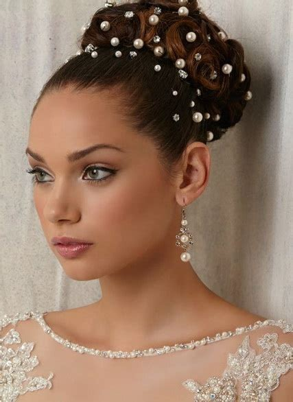 wedding hairstyles with pearls 20 iconic bridal hairstyles