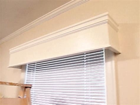 Wood Cornice Box Wood Valances 3 Blind Mice Window Coverings