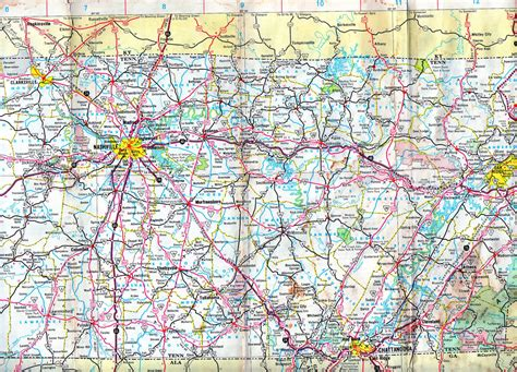 middle tn map a map of middle tennessee from 1968 i scanned this for a