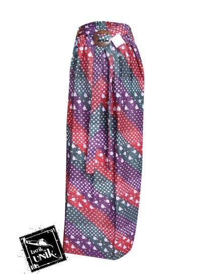 Rok Motif 4 rok batik cantik motif kembang cengkeh bawahan rok murah batikunik