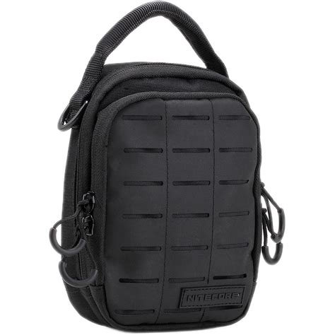 nitecore nup10 tactical utility pouch black nup10 b h