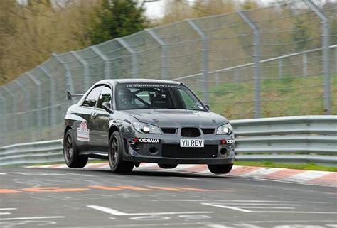 subaru nurburgring video revolution subaru wrx breaks nurburgring lap record