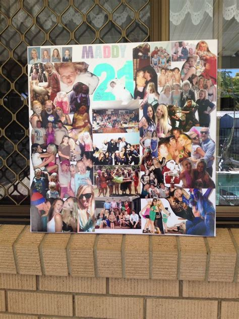 photo board ideas 1000 images about 21st birthday photo board ideas on