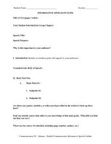 Informal Speech Outline by Buy Original Essay Write Thesis Statement Informative Speech