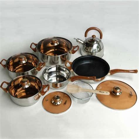 1 Set Oxone Eco Cookware jual eco cookware oxone set ox 933 murah solusi masak