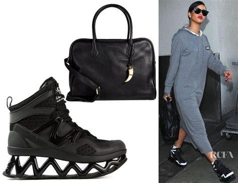 Marc Rihanna Bag by Rihanna S Balmain 24 Hours Leather Tote Marc By