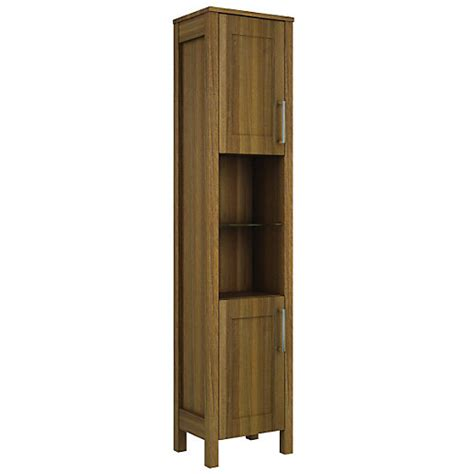 freestanding bathroom furniture cabinets wickes frontera walnut freestanding tall tower unit 410