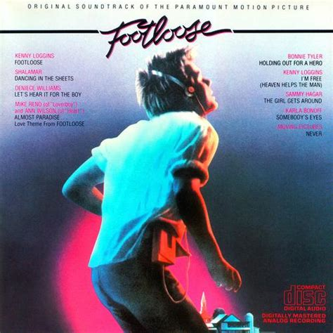 themes of love in 1984 sound track footloose