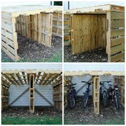 Bike Shed Ideas by Best 20 Bike Shed Ideas On Bicycle Storage
