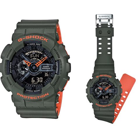 G Shock Ga 110 Graffiti Black Rubber casio g shock ga 110ln 3a digital an end 1 10 2019 1 14 pm