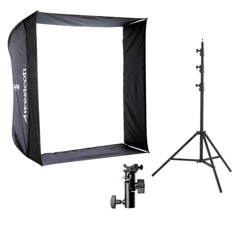 Stand Softbox westcott 28 quot apollo with 8 stand and bracket kit 2331 b h