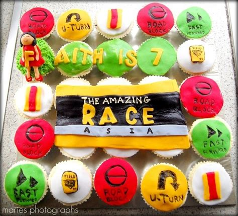 Amazing Race Decorations by Amazing Race Cupcake Ideas Can T Get Enough