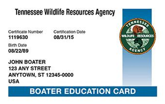 tennessee boating license overview - Boating License In Tn