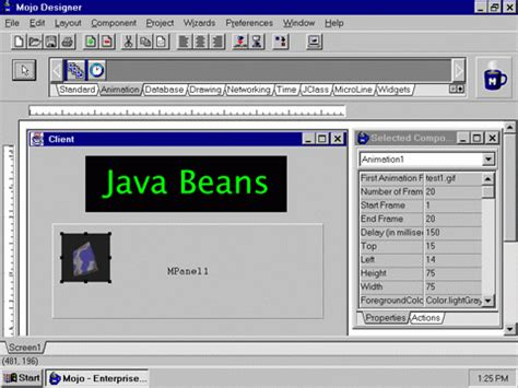 java tutorial video lectures definition application builder tools