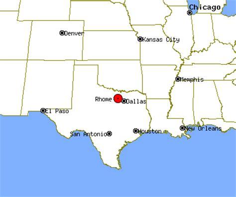rhome texas map rhome profile rhome tx population crime map
