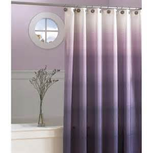 ombre purple shower curtain upstairs bathroom