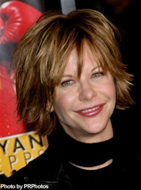 meg ryan back hairstyle back view of choppy razored hairstyles photo short