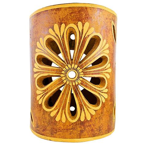 Clay Wall Sconces ceramica blanca collection clay wall sconce ccbs009
