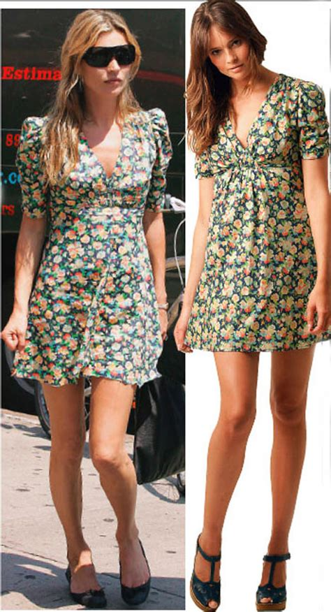 Floral Backless Top Like Kate Moss by Copycat Kate T We Seen New Topshop Collection