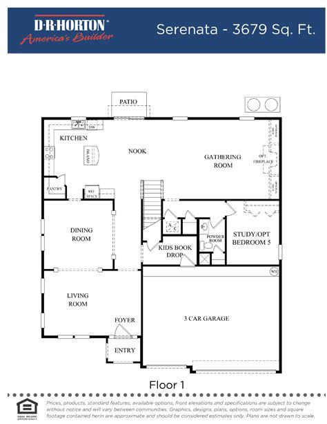 dr horton floor plans