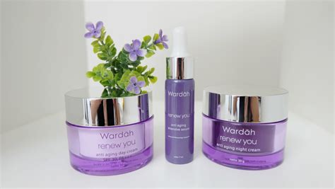 Wardah Renew You wardah renew you anti aging intensive serum product