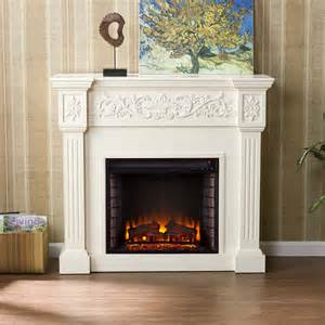 antique white electric fireplace portablefireplace
