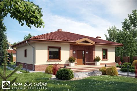 una casa de 100 8416427054 projekt domu jednorodzinnego wr 243 bel bez garażu b hh35 wybierrojekt pl
