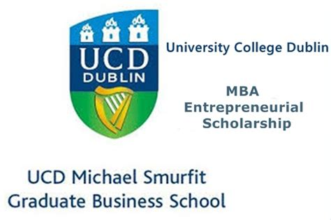 Entrepreneur Mba Colleges In India by College Dublin Ucd Ireland Mba Entrepreneurial