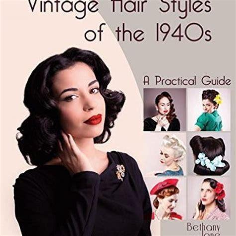 retro hairstyles book book of vintage hairstyles hair