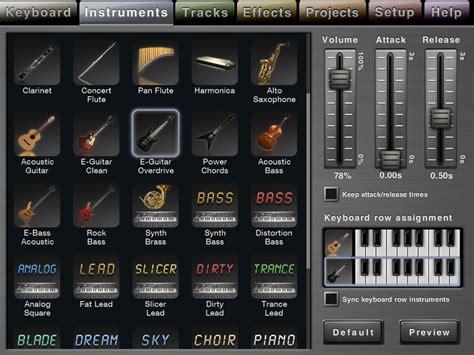 Garageband Keyboard Sounds Studio For Review Askaudio Magazine