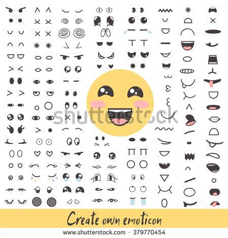 how to do smiley on doodle fit emoticon creator big collection create your