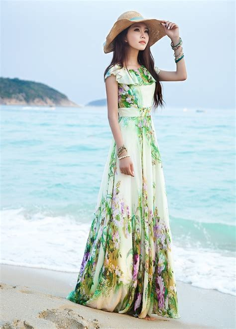 34 Collection Summer Maxi Dresses Make You More Sexy in