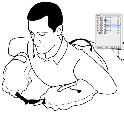 art tutorial line art illustration how to create great looking line art in adobe