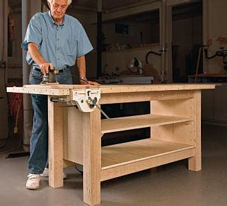 how to make a work bench how to make a woodworking bench pdf plans backyard wood projects 187 freepdfplans