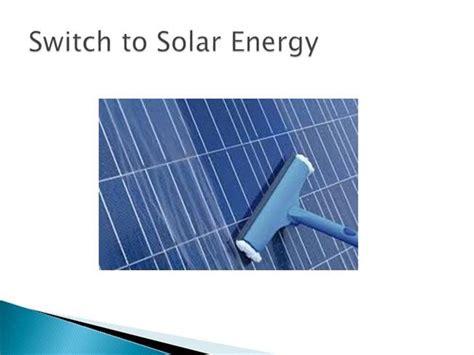 Switch To Solar Energy Authorstream