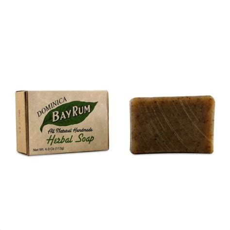 Handmade Herbal Soap - dominica bay rum all handmade herbal soap 4oz soap