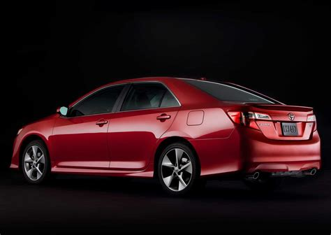 Toyota 2012 Camry Introduction 2012 Toyota Camry Burns Up The With