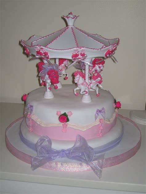 carousel cakes decoration ideas birthday cakes