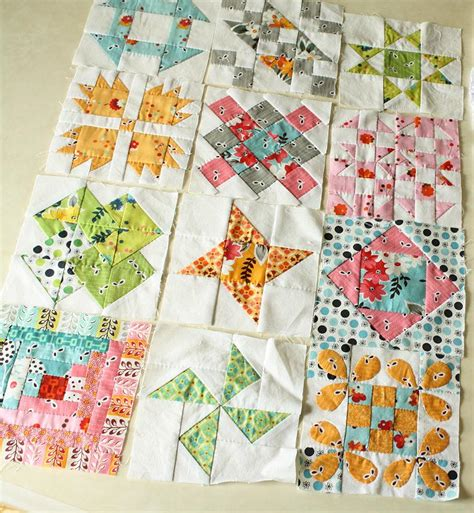 Piecing Patchwork Patterns - clover violet why not sew quilts pieced quilt