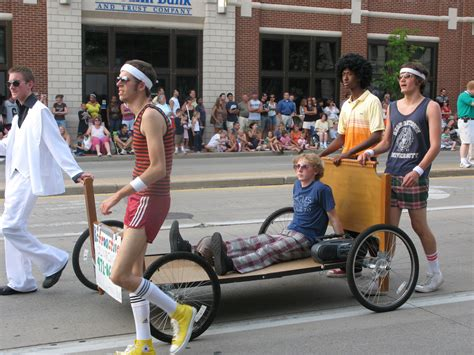 bed race but officer i was racing a bed three rivers festival blog