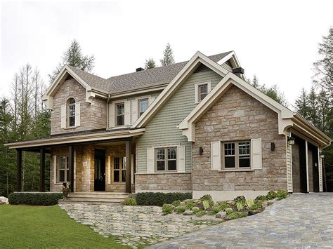 Country Homes Designs by Country House Plans Two Story Country Home Plan 027h