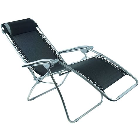 reclining sun chair zero gravity reclining garden relaxer sun lounge chair
