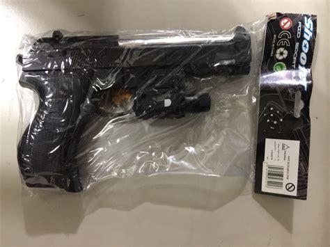 lazerli oyuncak boncuklu tabanca