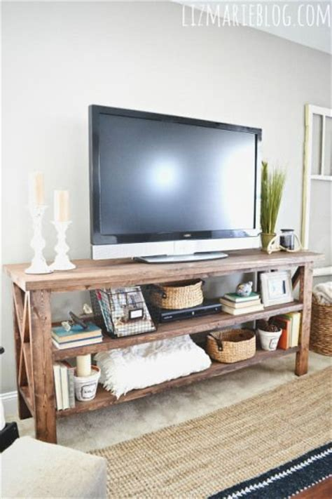 Diy Tv Stand For Bedroom Diy Tv Console Tv Console Tables This And Tables